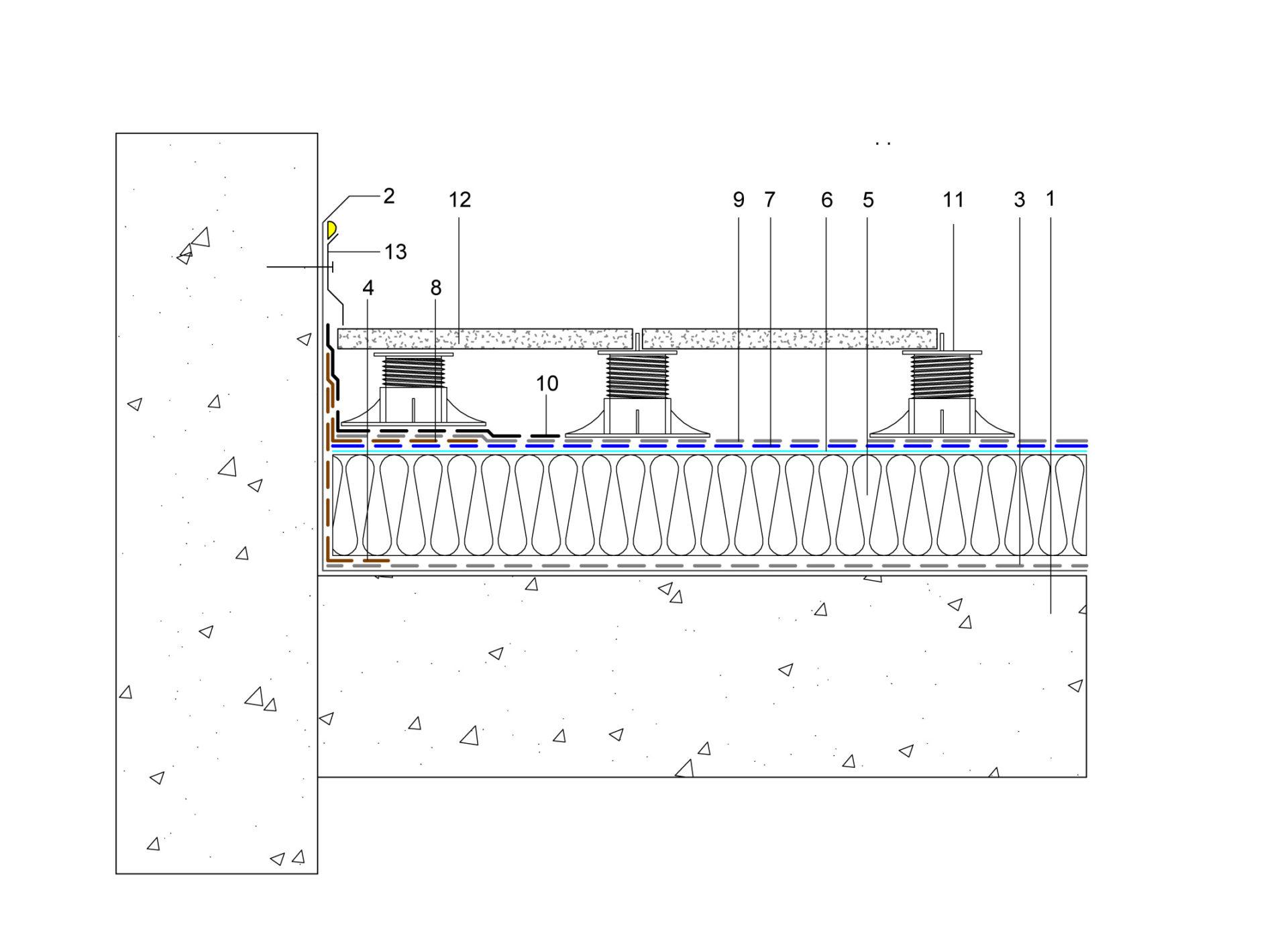 schéma étanchéité toit plat