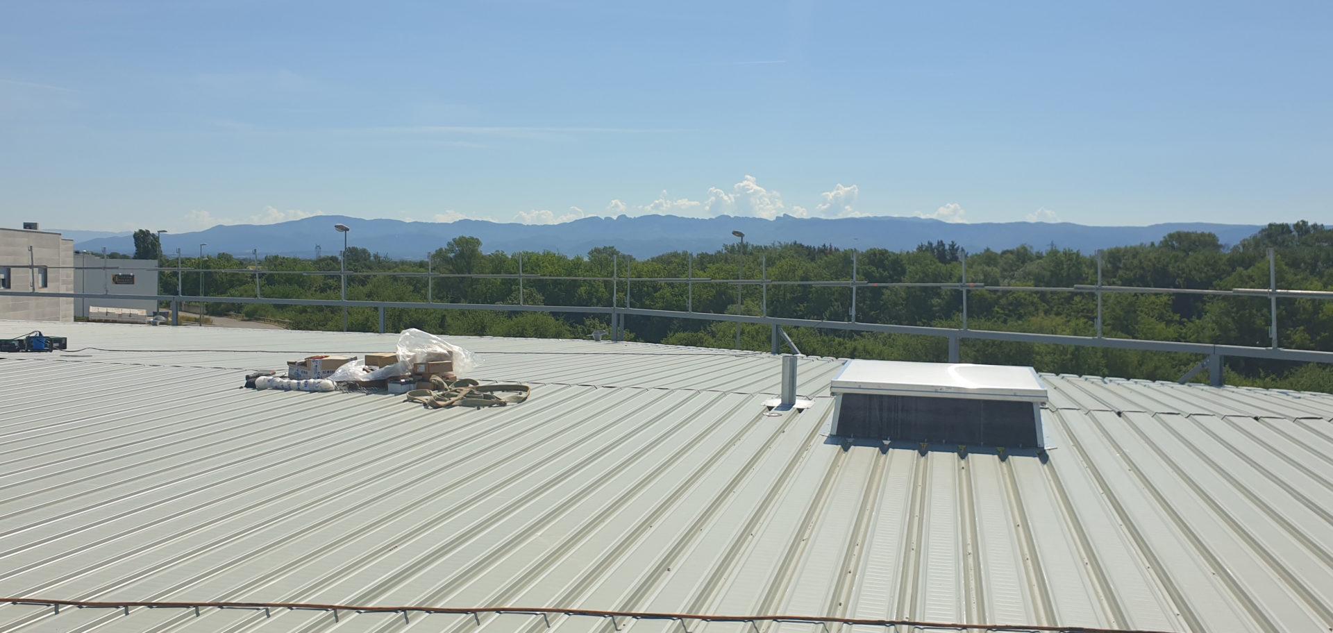 toit acier j2c étanchéité